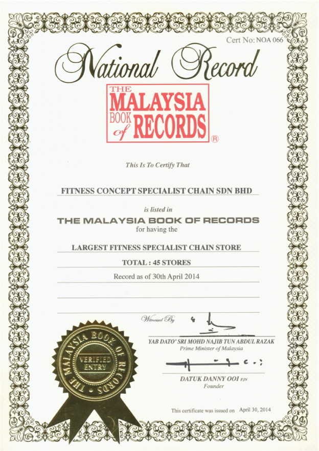 MRCA – Malaysia Book of Records Night of Achievers