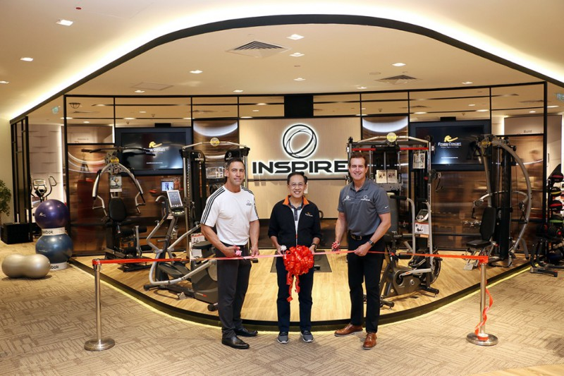 Fitness Concept launches Biggest Inspire Fitness showroom in Asia