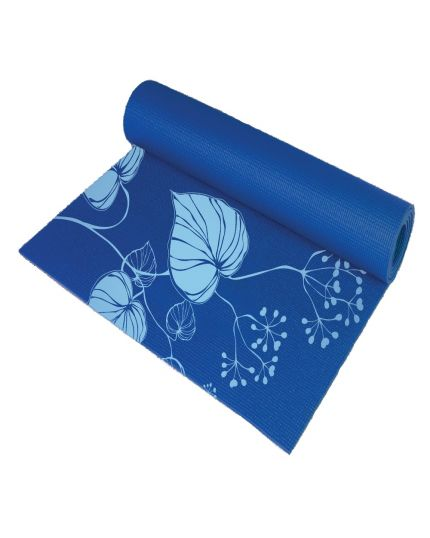 FC Live + Yoga Mat with Mesh Bag-Blue