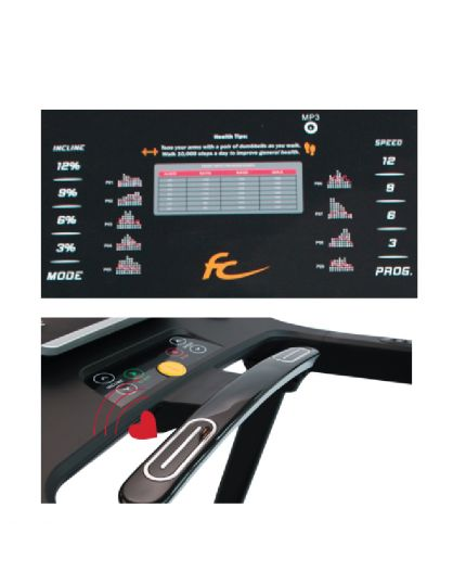 FC EZYRUNNER 2.0 WITH MASSAGER