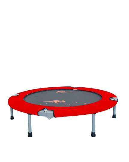 """FC 48"""" FOLDABLE TRAMPOLINE(CANVAS)-RED"""