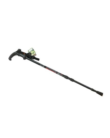 Black Walking Stick With T Handle (Adjustable)