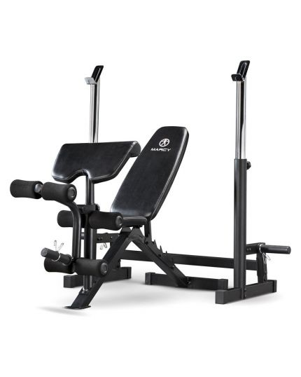 MARCY DELUXE OLYMPIC BENCH W/ SQUAT STAND