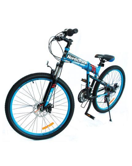 """Nordictrack Folding Bike 26""""- Matte Blue"""