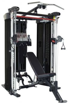 Inspire FT2 Functional Trainer with Bench & Leg Extension